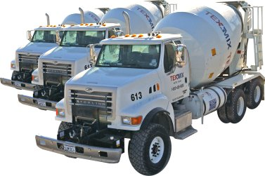 Tex-Mix Concrete Trucks